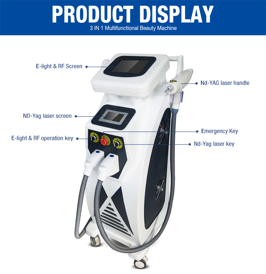 elight hair removal machine details