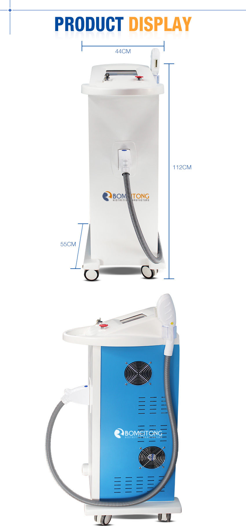 ipl hair removal machine details