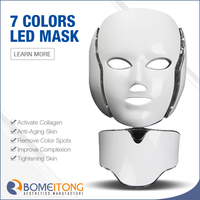 Led light therapy mask 7 colors for face and neck FM8