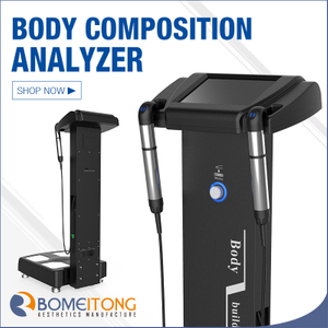 25 test values bioimpedance body composition analyzer for fitness