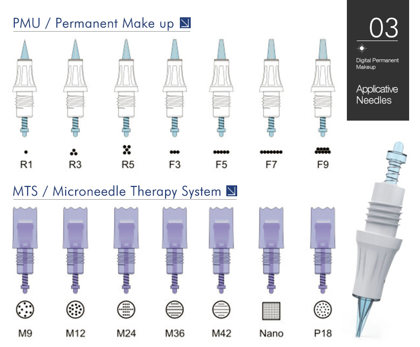 permanent makeup machine work head