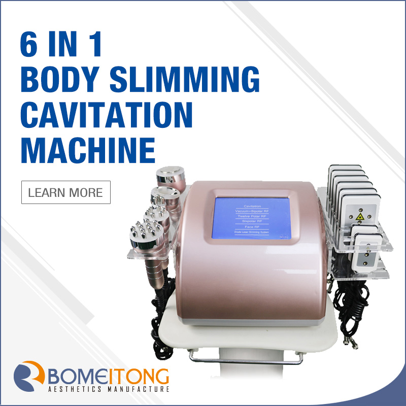 Cellulite Removal Vacuum Cavitation Rf Body