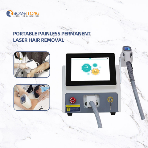 Portable Sapphire Laser Hair Removal Machine Device