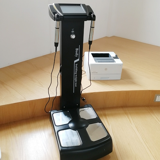 Bioelectrical Body Fat Analyzer Multi Frequency Fitness Device