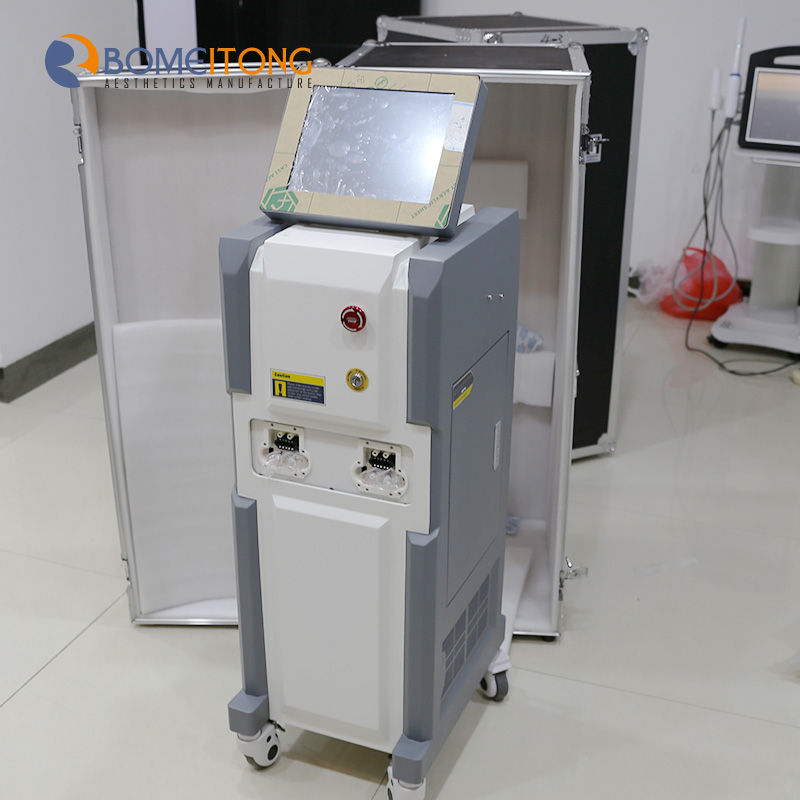 Facial hair removal for men 808nm machine salon use permanent painless