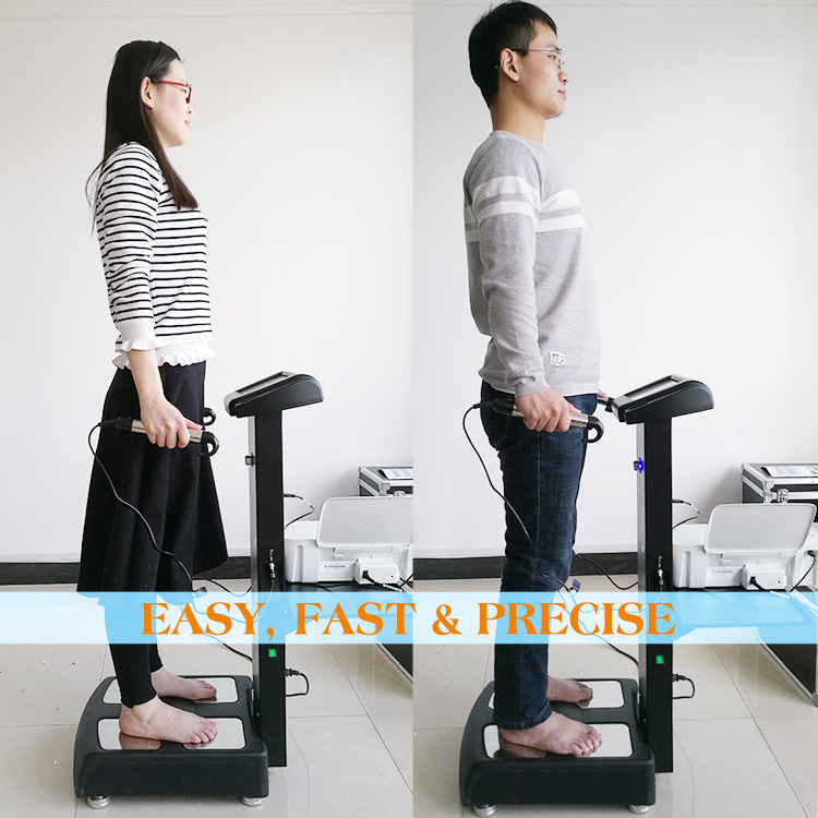 Body composition analysis test price machine health assessment with printer