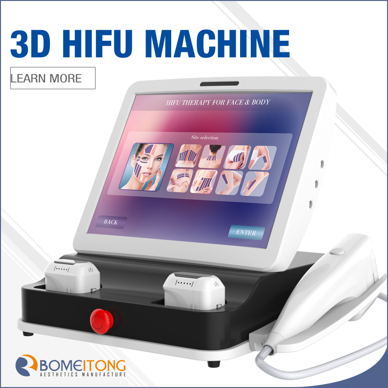 1-11 Lines 3d Technology Latest Achievements in Hifu Machine