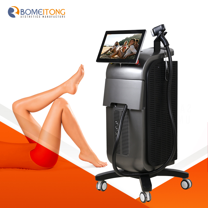 Laser alma soprano ice hair removal machine High Power Triple Wavelength 755 810 1064