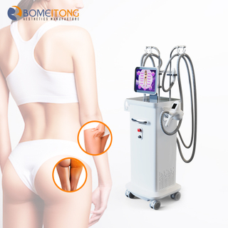 Bomeitong New Radio Frequency Vela Shape Cellulite Removal Fat Reduction Infrared Rf Vacuum Roller Slimming Machine for Sale