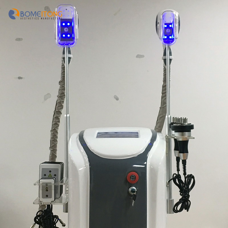 Cool freeze fat removal equipment 5in1 cavitation rf lipo laser