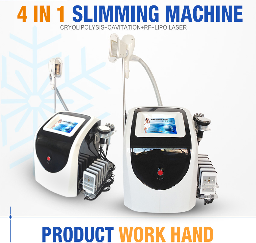 4 In1 Body Slimming Cooltech Fat Freezing Machine Price