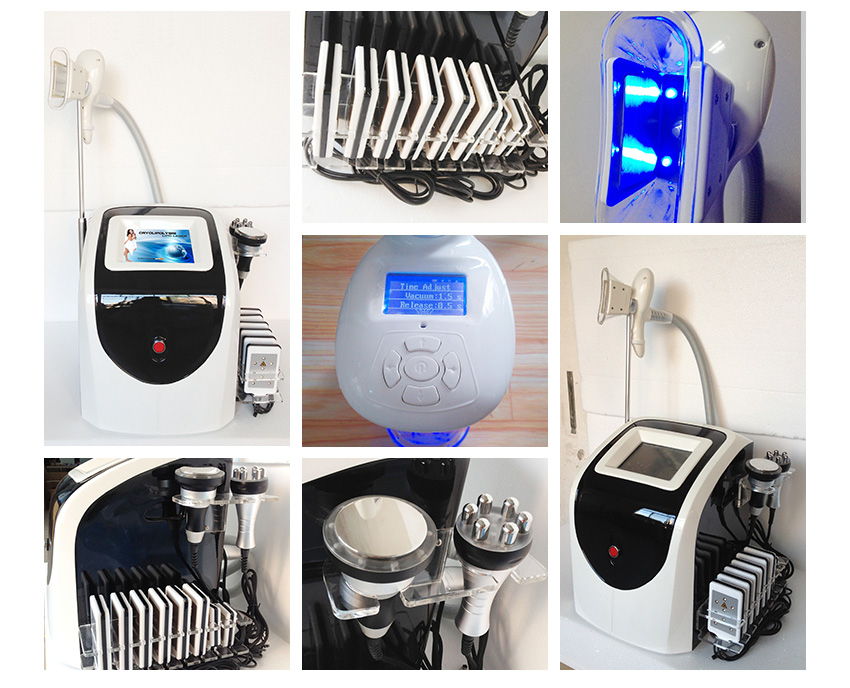 Portable Cryolipolysis Treatment Machine for Slimming Center