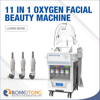 2019 Professional oxygen facial beauty machine 11 work heads G882A-2S