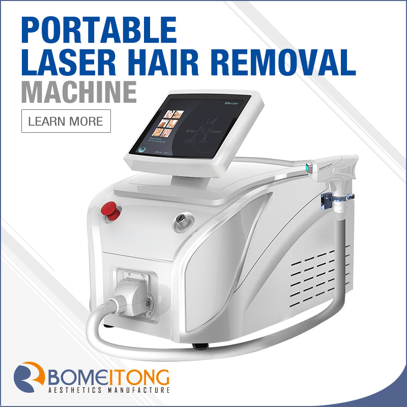 Big Spot Portable Diode Laser 808 Machine Hair Removal