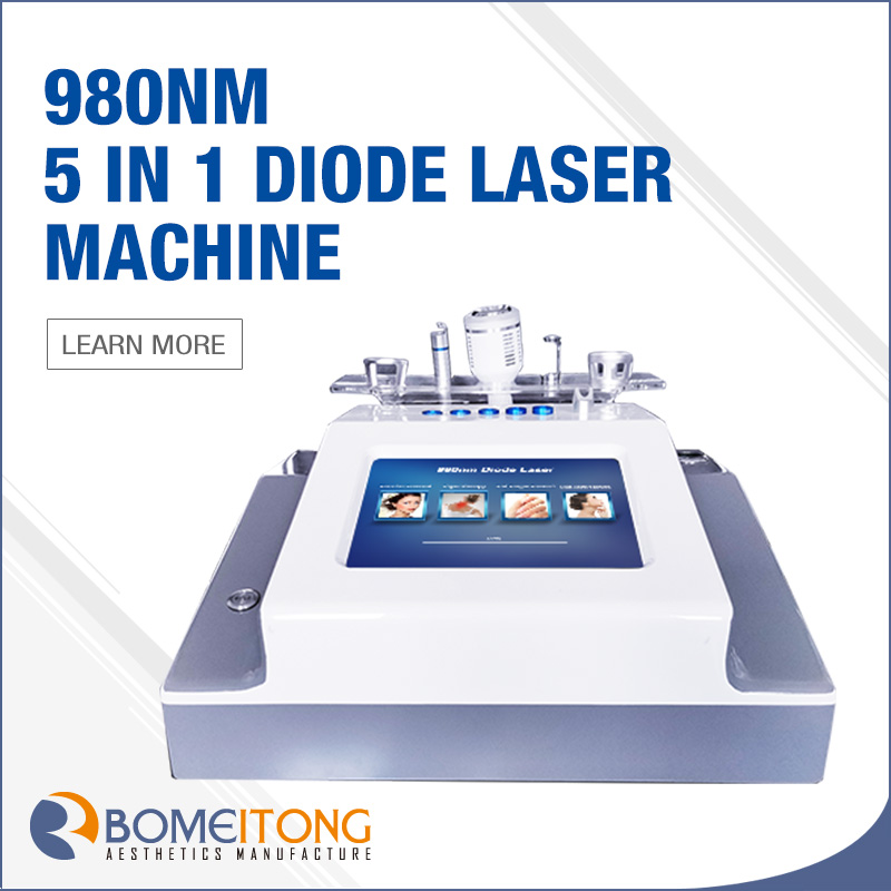 980nm Diode Laser Vascular Removal Portable for sale
