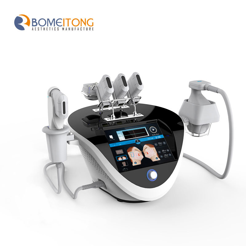 2 in 1 body hifu body contouring and face lift machine home