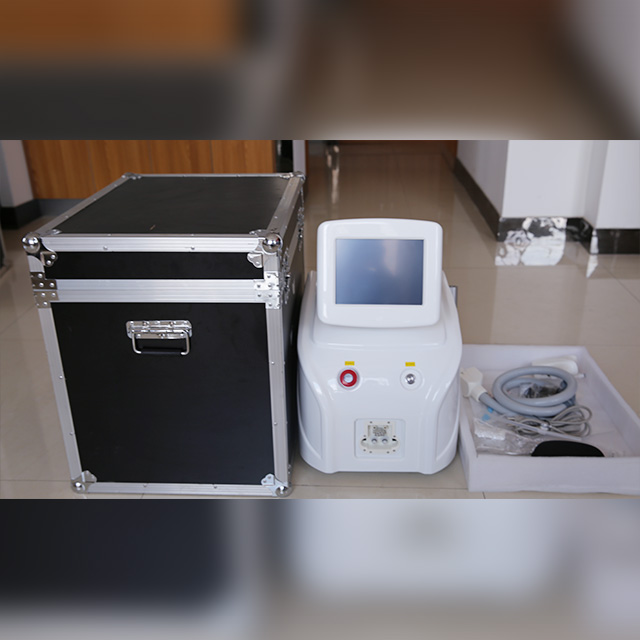 755nm Vertical Diode Laser Hair Removal Machine