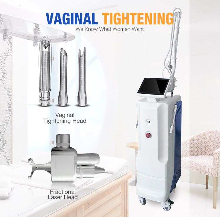 Medical Fractional Co2 Laser Vaginal Treatment Machine