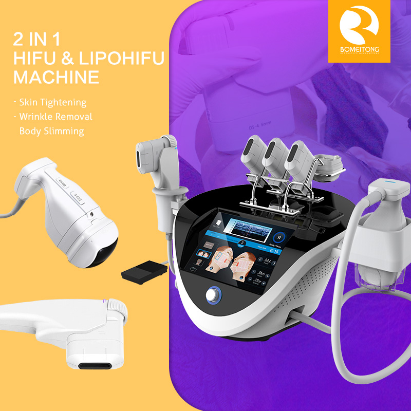 Portable Hifu Machine 2in1 Face And Body Treatment FU18-S3